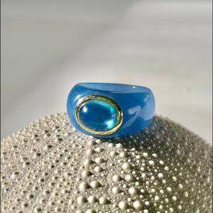 Blue Jade ring